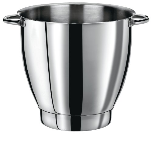 Waring Commercial WSM7BL Stainless Steel Stand Mixer Bowl with Carrying Handles by Waring