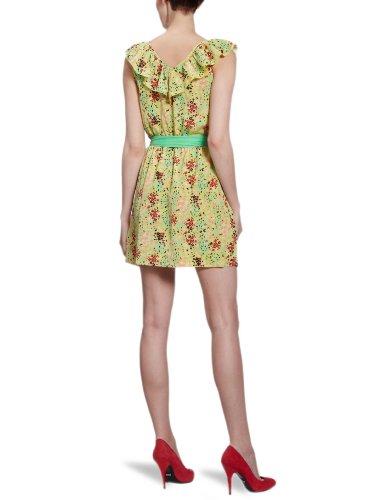Vila - Vestido mini para mujer Amarillo (Citrus)