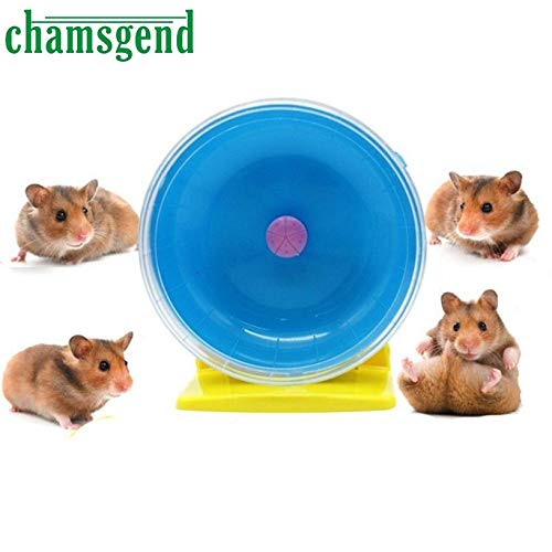 Best Quality - Dog Toys - Hamster Mouse Rat Exercise Toys Plastic Silent Running Spinner Wheel Pet Toy Levert Dropship L723 - by VietFX - 1 PCs