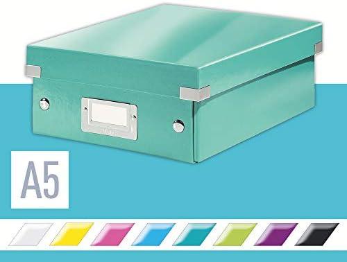 Leitz Caja organizadora pequeña, Turquesa, Click and Store ...
