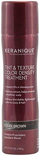 Keranique Tint & Texture Treatment Spray - Dark Brown - 3...
