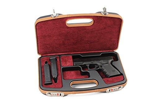Negrini Deluxe Dedicated GLOCK Style Handgun Case – 2028SLX/5512 by Negrini Cases