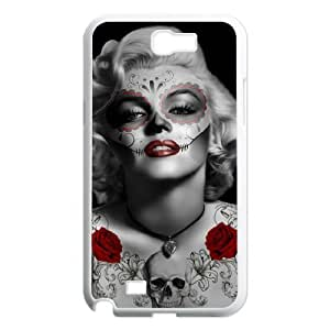 Zombie Marilyn Monroe Classic Personalized Phone Case for Samsung Galaxy Note 2 N7100,custom cover case ygtg691956
