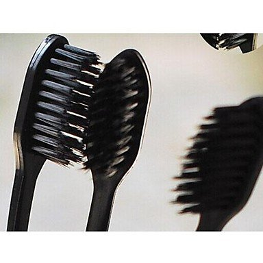QINF 1 PCS Black Nano Toothbrush(Random Color)