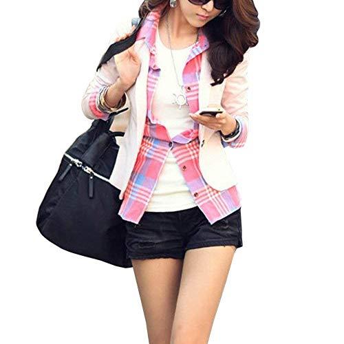 Asym Automne Vintage Printemps Femme Mode Fleur Affaires Motif Blazer Costume HzWpAqa46