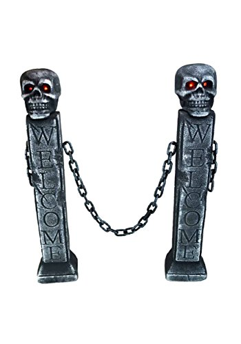 Bauer Pacific Halloween Fence w/LED Lights - ST