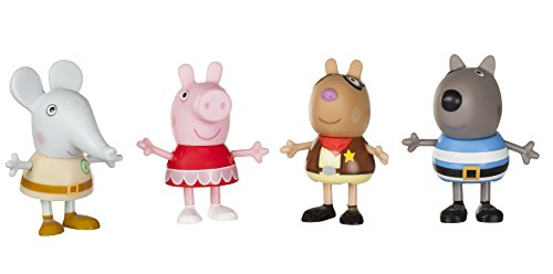 - Peppa Pig Fancy Dress Party 4-Figure Pack