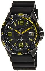 Casio Men's MTD-1065B-1A2VDF Analog Resin Band Watch