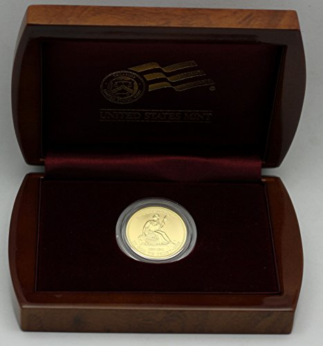 2008 W First Spouse Gold Van Buren's Liberty Uncirculated $10 Complete in Box US Mint