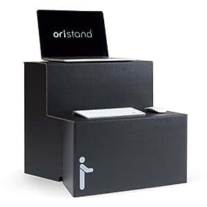 ORISTAND Standing Desk Converter - Portable Stand Up Desk for Laptop and Computer Workstations (Black)