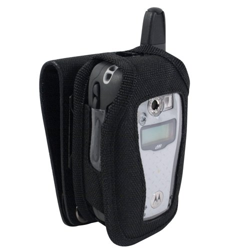 - Wireless Xcessories Industrial Strength Canvas Case for Motorola i760