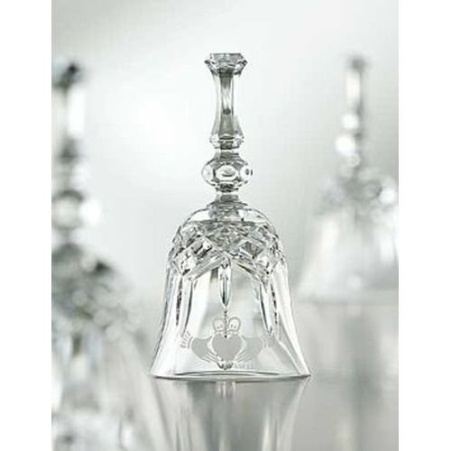 Etched Crystal Bell (Galway Crystal Claddagh 6