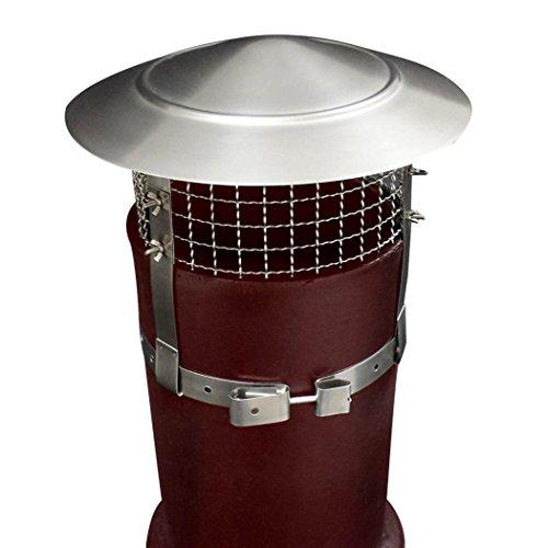 BestValue Go Anti Bird/Rain Stainless Steel 9-inch Mesh Flue Chimney Cap Cover