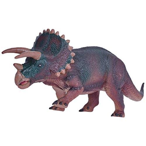 Arfbear Dinosaure en plastique de taille moyenne pour Cool Kid's Present Extinct World Funny Toy Figure Triceratops