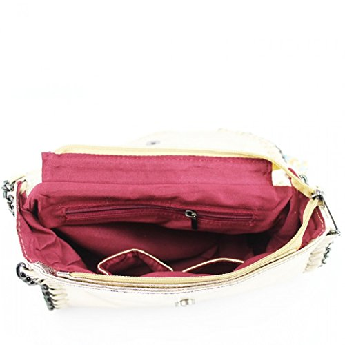 Trim Body Bags Pink Women's Chain Party Handbags Women Cross Body Leather Bags For Faux CW932 LeahWard Cross qdEa6wF88x