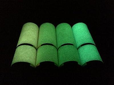 9 LED Waterproof Flashlights, Multi-packs of 3, 4 or 5, Glow in Dark