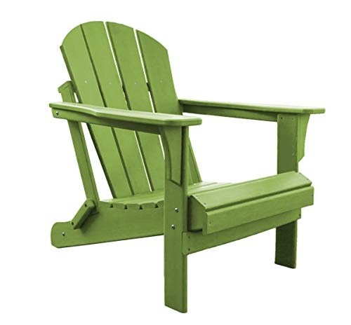 Panama Storage - Panama Jack PJO-4001-LIME Adirondack Chair, Lime