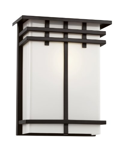 Trans Globe Cityscape 40202 Square Patio Light - 9.25H in.