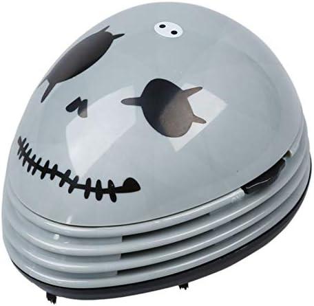 DYHM Robot Aspirador Mini Limpiador de Polvo de Mesa de vacío con Pilas (Color : Gray): Amazon.es: Hogar
