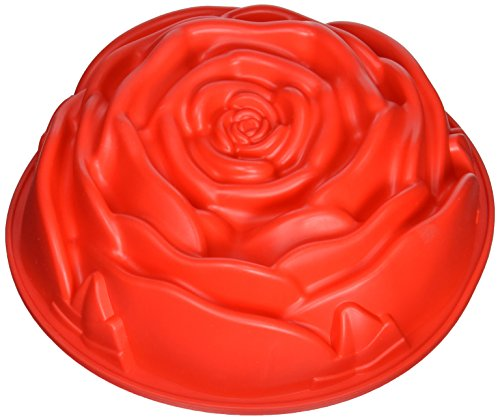 Sorbus Silicone Rose Shaped Bunt Mold