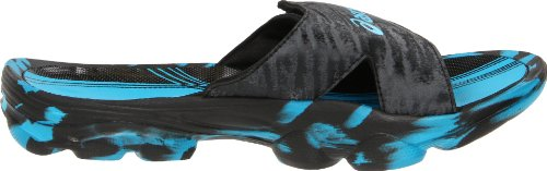 ASICS Mens Iyashi Slide Sandal Electric Blue/Black NQBuLL