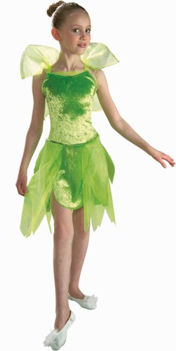 Tinkerbell Costume - Child size Large