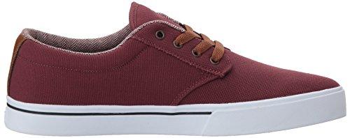 Etnies Jameson 2 Eco, Men's Skateboarding Shoes Burgundy/Tan