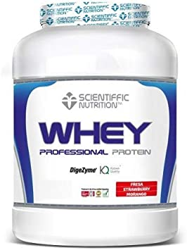 Professional Whey Protein 908 Grs - Scientiffic Nutrition ...
