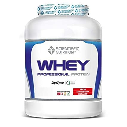 SCIENTIFFIC NUTRITION Professional WHEY Protein 908 GRS ...