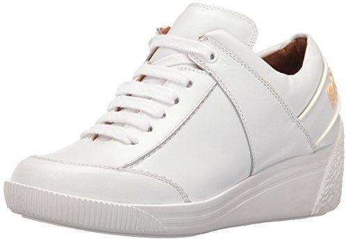 SEE BY CHLOE Women's Duncan Wedge Fashion Sneaker - White...
