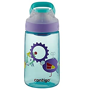 Contigo Auto Seal Gizmo Sip Kids Water Bottle, 14-Ounce, Ultramarine