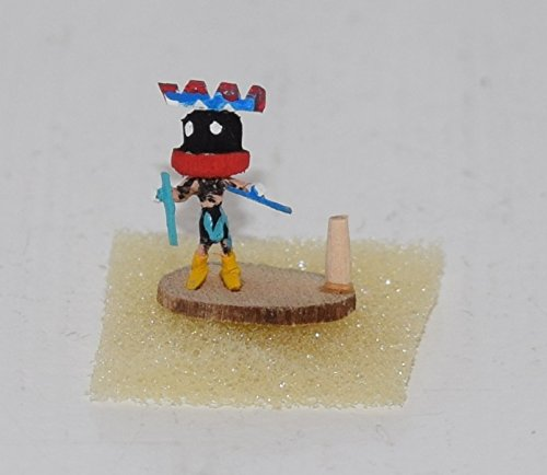 MICRO Apache Crown Dancer Kachina with Removable (Dancer Kachina)