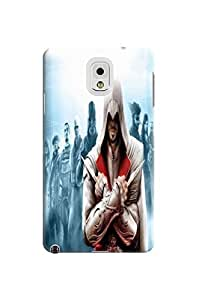 Cool Assassin's Creed fashionable designed TPU phone protection case For Samsung Galaxy note3 with Fresh Patterns Kimberly Kurzendoerfer