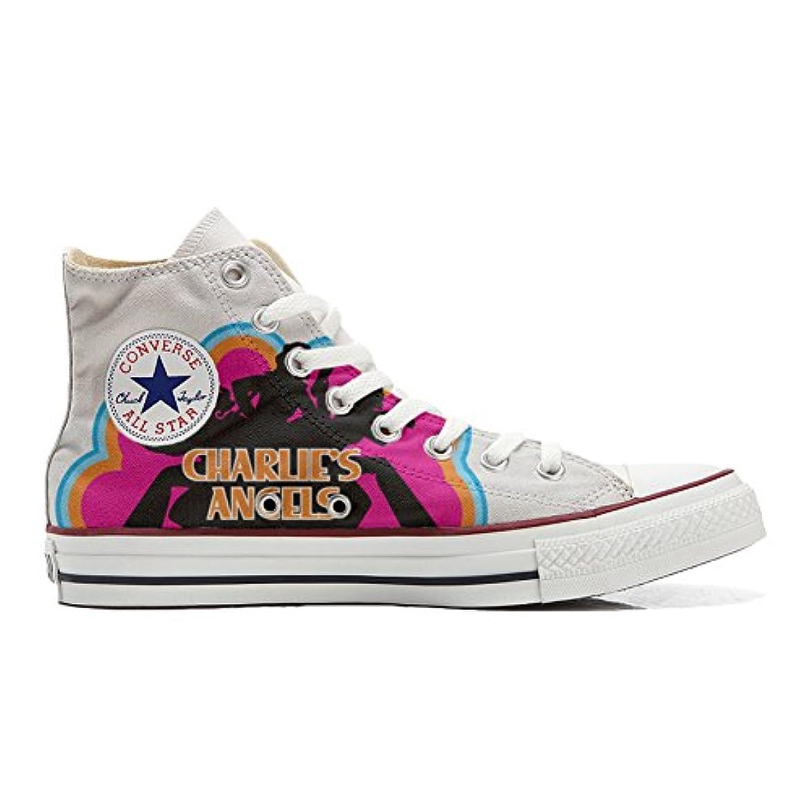 Scarpe Converse All Star Alte Personalizzate scarpe Artigianali Charlies Angels