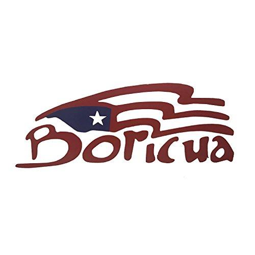 Puerto Rico Decal Boricua Size 5½