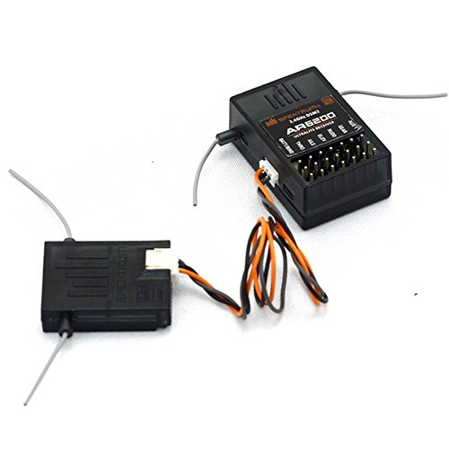 XIAOGUZHI WILLOWLUCKY New JR Spektrum AR6200 DSM2 6 Channel 2.4GHz Receiver Black