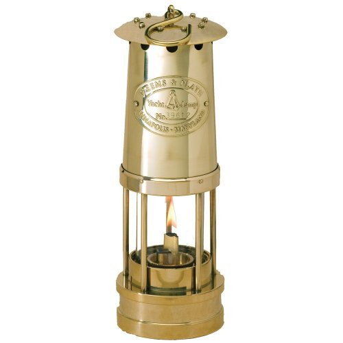 Weems & Plath Yacht Oil Lamp (Brass)