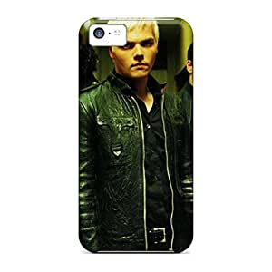 Shockproof Hard Phone Cases For Apple Iphone 5c (Wub13618QJcr) Customized Trendy My Chemical Romance Band Series