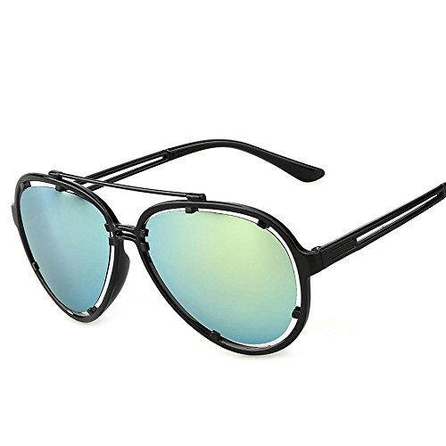 Aoligei Creux Fashion color Film hommes et femmes lunettes de soleil rétro G