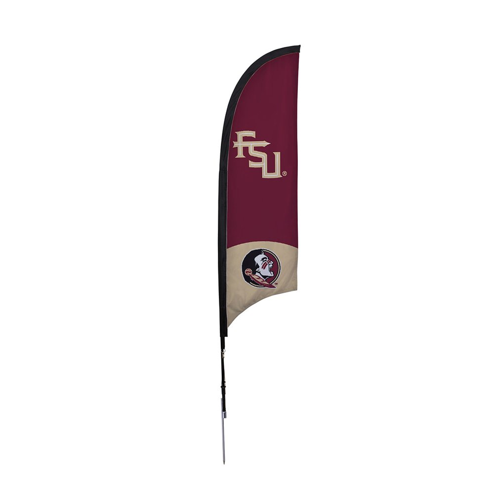 Victory隊810021 fsu-001 Florida State Seminoles FSU 7 ft。Razor Sailサインとスパイクベース   B01AIHRNH2