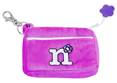 Embroidered Coin Purse - Plush Zippered Coin Purse - Embroidered Monogram -