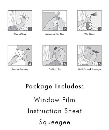 "Artscape Lace Window Film 24"" x"