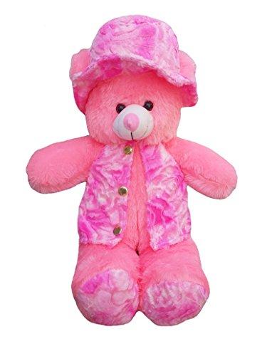 ADS Toys Beautiful Pink Fur Modi Jacket Teddy Bear 70cm