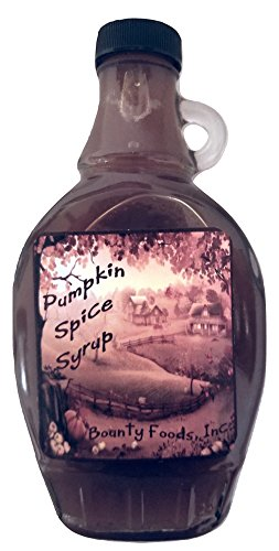 Biscotti Halloween Vegan (Pumpkin Spice Breakfast Syrup Cocktails  - 11 oz bottle from Bounty Foods for Coffee -  Pancakes - Dessert Toppings - Gluten-Free - Non-GMO - Vegan Friendly (PS)