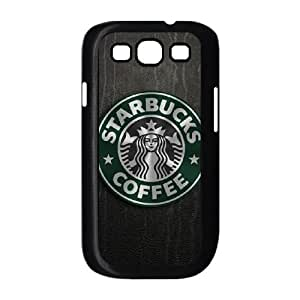 Popular And Durable Designed TPU Case with Starbucks Starbucks Samsung Galaxy S3 9300 Cell Phone Case Black
