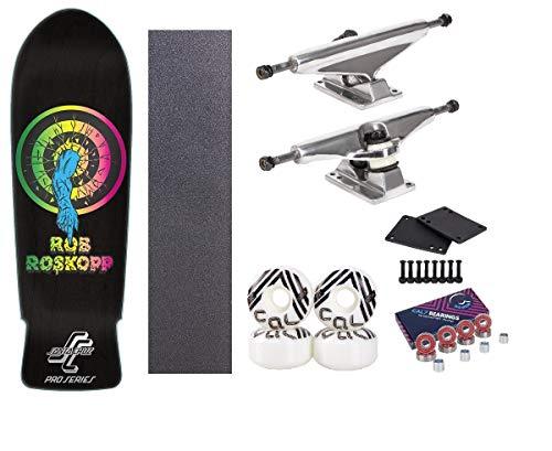 Santa Cruz 10 Inch Roskopp Rob Target Complete Skateboard - Complete Skateboards Rob