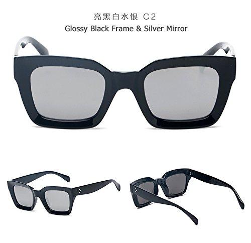 Solnew Senderismo C1 Ocio Viajes Gafas Viaje Sunglasses Sol Box Gradient Limotai C2 De Gafas Retro De De De Fiesta Shopping q8ncgEB