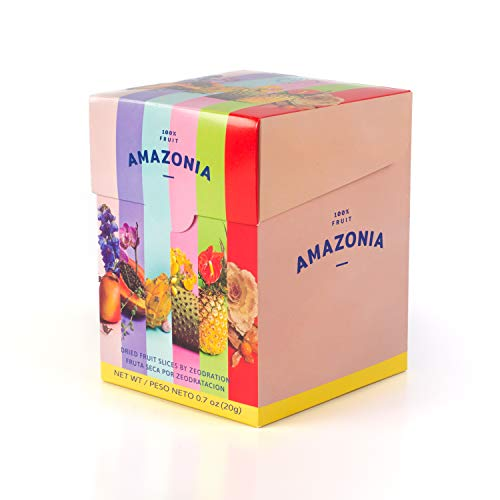 Amazonia Agroecology Dried Tropical Mix Fruit, Small Bag 0.70 oz (6 Pack)