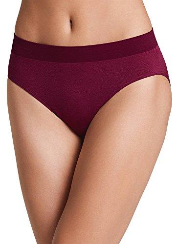 Jockey Women's Underwear Modern Micro Seamfree Hi Cut, Merlot Wine, 6 (Best Merlot Wine Under 20)