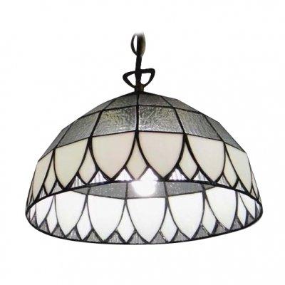 Hua Glamorous Single Light 12 Inches Wide Glass Shade